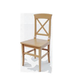 Стул Рустикал (с деревянной сидушкой)
